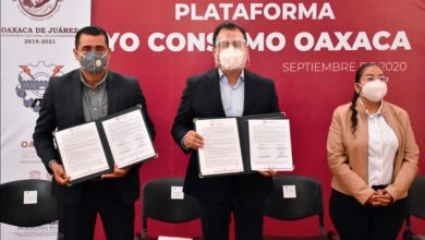 "Photo of Presenta Oswaldo García plataforma digital ""Yo Consumo Oaxaca"""