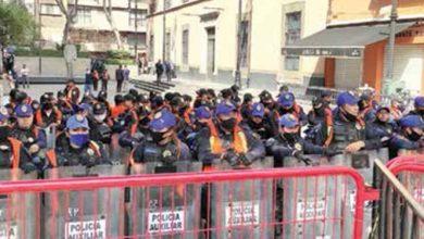 Photo of Concretan extinción de 109 fideicomisos; ante protestas, Senado sesionó en sede del Centro Histórico