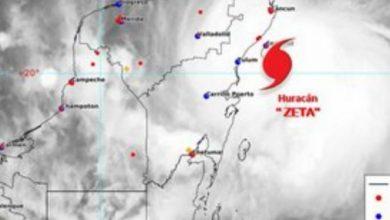 Photo of Quintana Roo empieza a sentir los efectos de 'Zeta'