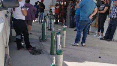 Photo of Antes hacían fila por cerveza… hoy por oxígeno ante rebrote