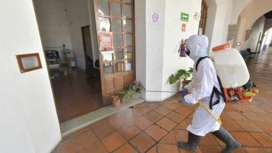 Photo of Con desinfección de oficinas, Ayuntamiento de Oaxaca garantiza entornos saludables para colaboradores