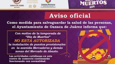 Photo of En temporada de Día de Muertos, no se autorizará instalación de puestos provisionales en el Mercado de Abasto