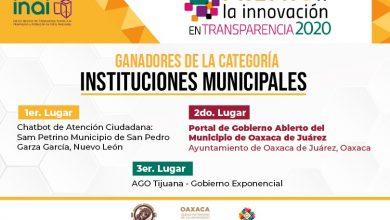 Photo of Obtiene Oaxaca de Juárez segundo lugar a nivel nacional en innovación en transparencia