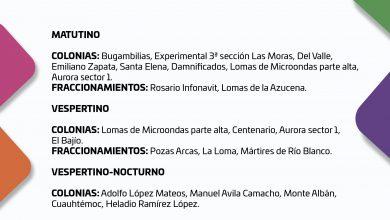 Photo of CONSULTA EL SUMINISTRO DE AGUA POTABLE PARA ESTE MIÉRCOLES 21 DE OCTUBRE DEL 2020