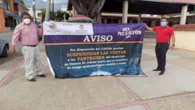 Photo of Visitas a panteones de Oaxaca de Juárez están suspendidas por disposición de Cabildo