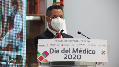 Photo of Reconoce Alejandro Murat compromiso humanista del sector salud