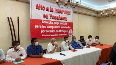 Photo of ANTORCHA EXIGE JUSTICIA PARA LOS CAMPESINOS ASESINADOS POR SICARIOS EN MIXTEPEC