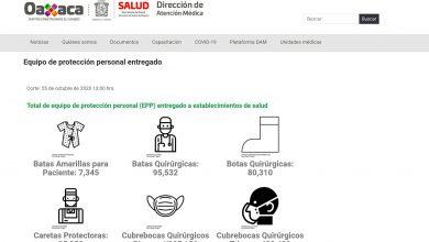 Photo of Crea SSO micrositio de consulta sobre la distribución de insumos de protección para el personal de salud