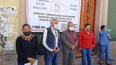 Photo of MAGISTERIO OAXAQUEÑO DENUNCIA PÉRDIDA DE VALORES DE LA SOCIEDAD POR EL INTENTO DE HOMICIDIO DE SU DELEGADO SINDICAL