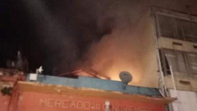 Photo of SE INCENDIA EL MERCADO 20 DE NOVIEMBRE, BOMBEROS LOGRA SOFOCAR EL INCENDIO