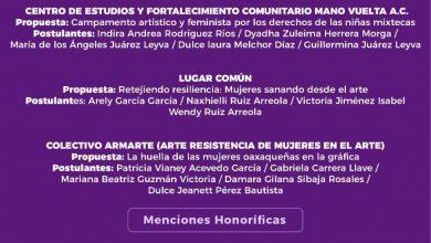 Photo of Emite Seculta resultados de la convocatoria Mujeres en el Arte