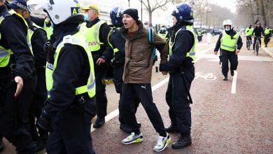 Photo of Más de 60 detenidos en Londres en protestas anticovid
