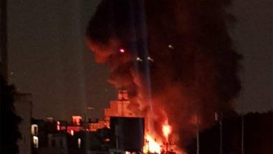 Photo of Se registra fuerte incendio en avenida Universidad; arde subestación