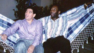 Photo of Un día patearemos el balón en el cielo, de Pelé a Maradona