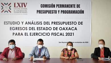 Photo of Debate y analiza Congreso de Oaxaca, el paquete fiscal 2021