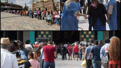 Photo of Feligreses hacen largas filas previo al cierre de la Basílica