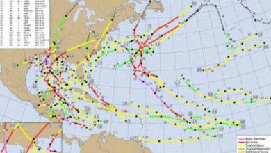 Photo of Temporada de Huracanes en el Atlántico rompió todos los récords