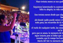 Photo of A 30 meses seguimos exigiendo #JusticiaParaSol