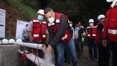 Photo of Da Alejandro Murat banderazo de inicio a suministro permanente de agua para San Pedro y San Pablo Ayutla